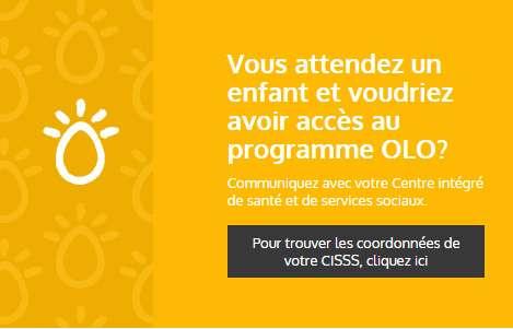 Vignette - Avoir accès au programme OLO