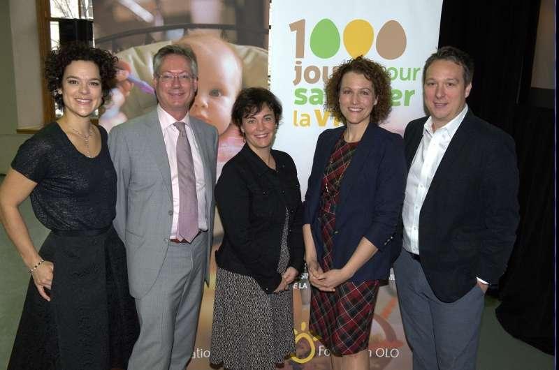 Photo officielle - Lancement 1000 jours - Fondation OLO