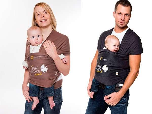 Porte-bébé Maman Kangourou - Fondation OLO