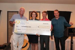 Les producteurs d'oeufs du Québec remettent 61 250$ à la Fondation OLO