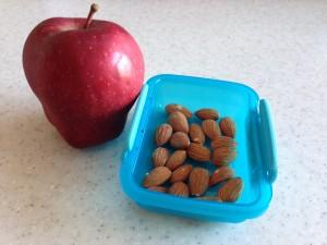 Pomme et amandes