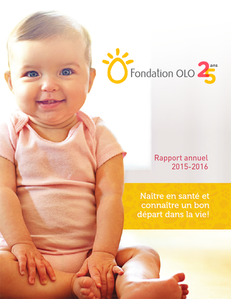 Rapport annuel 2015-2016 - Fondation OLO
