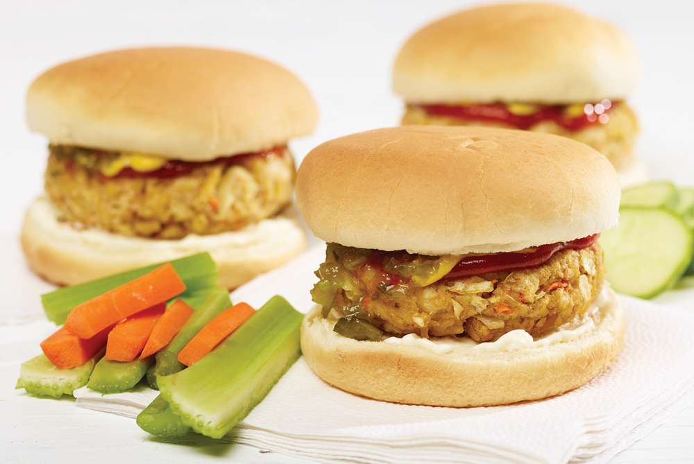 Fondation OLO | Recette | Burger tofu