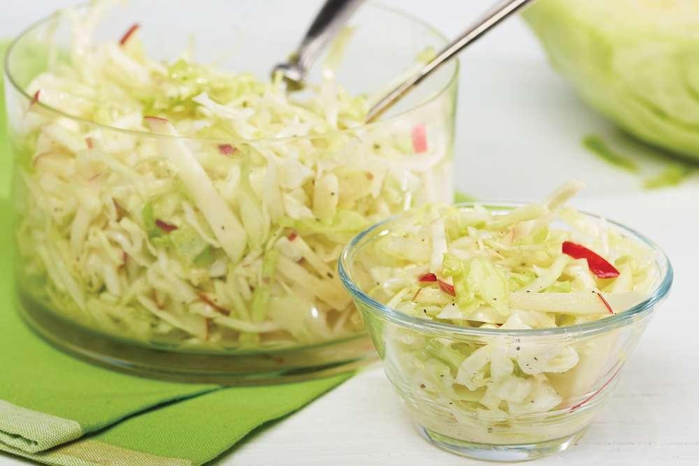Fondation OLO | Recette | Salade de chou aux pommes