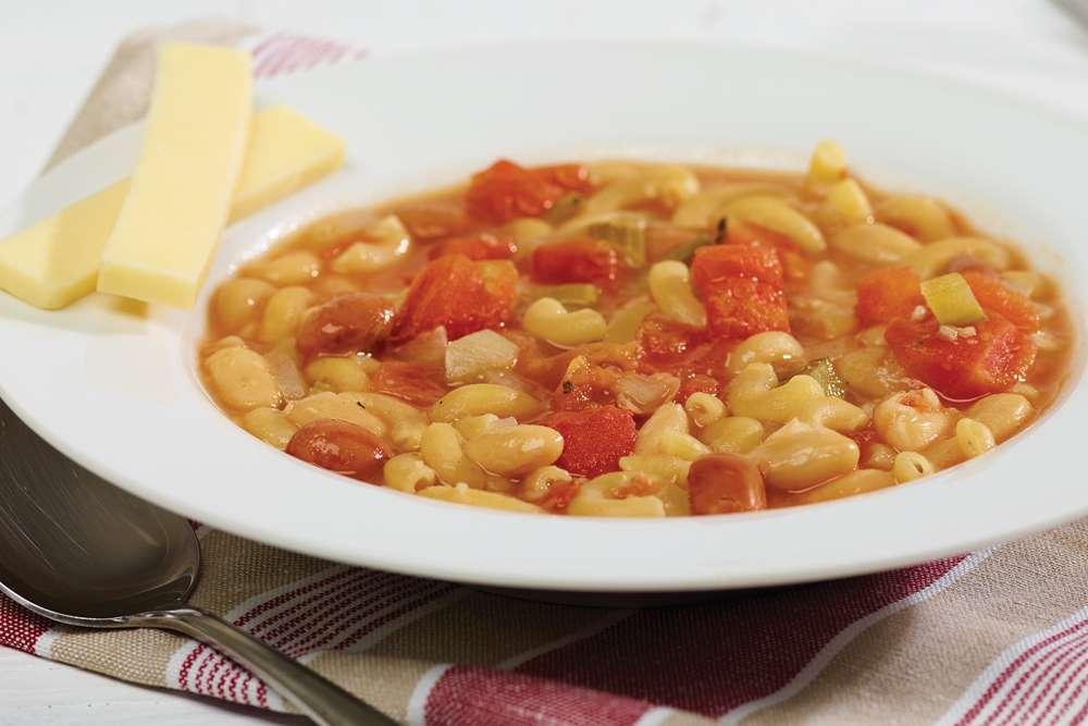 Fondation OLO | Recette | Soupe-repas « pasta e fagioli »