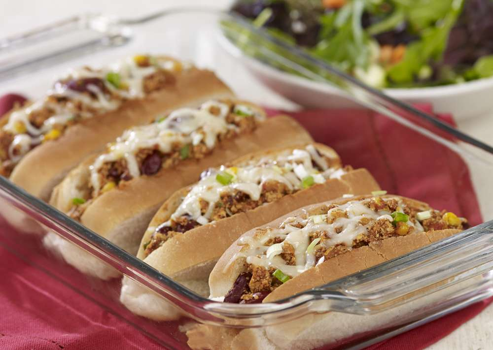 Fondation OLO | Recipe | Chili Dog sin Carne
