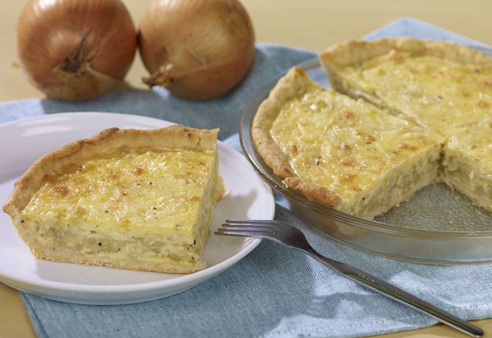 Fondation OLO | Recipe | Onion Quiche