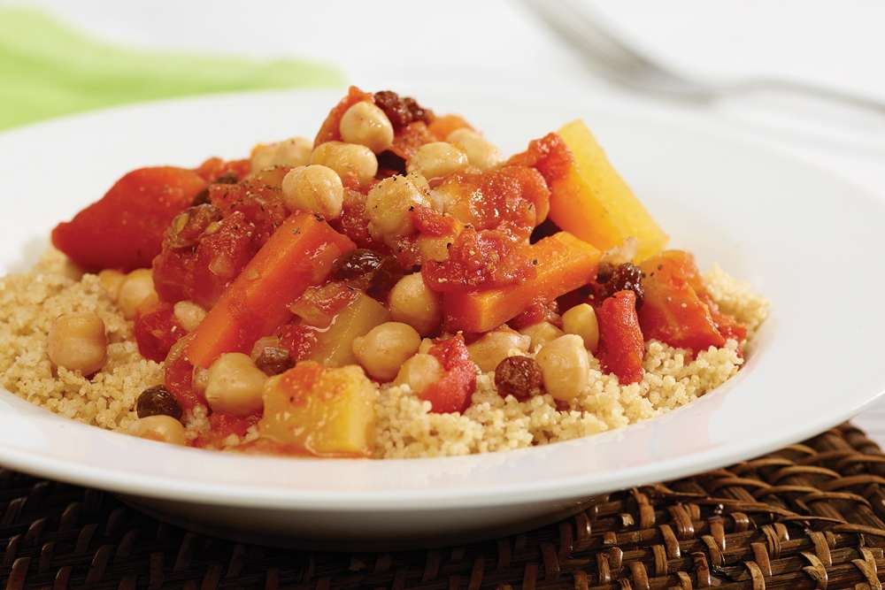 Fondation OLO | Recipe | Chickpea and Vegetable Couscous