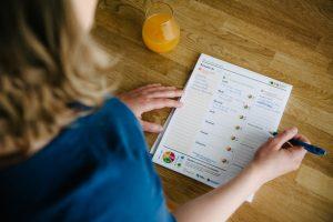 La planification des repas sur le blogue de la Fondation OLO