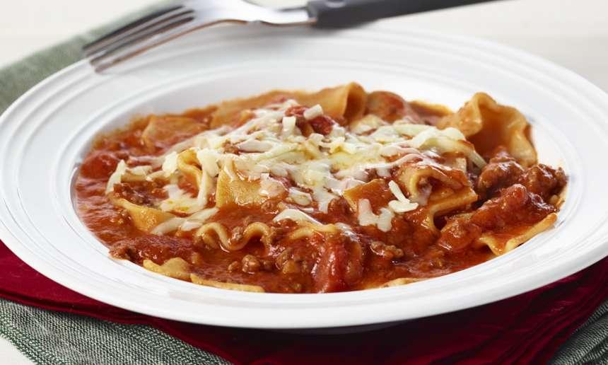 Fondation OLO | Recette | Casserole de lasagne