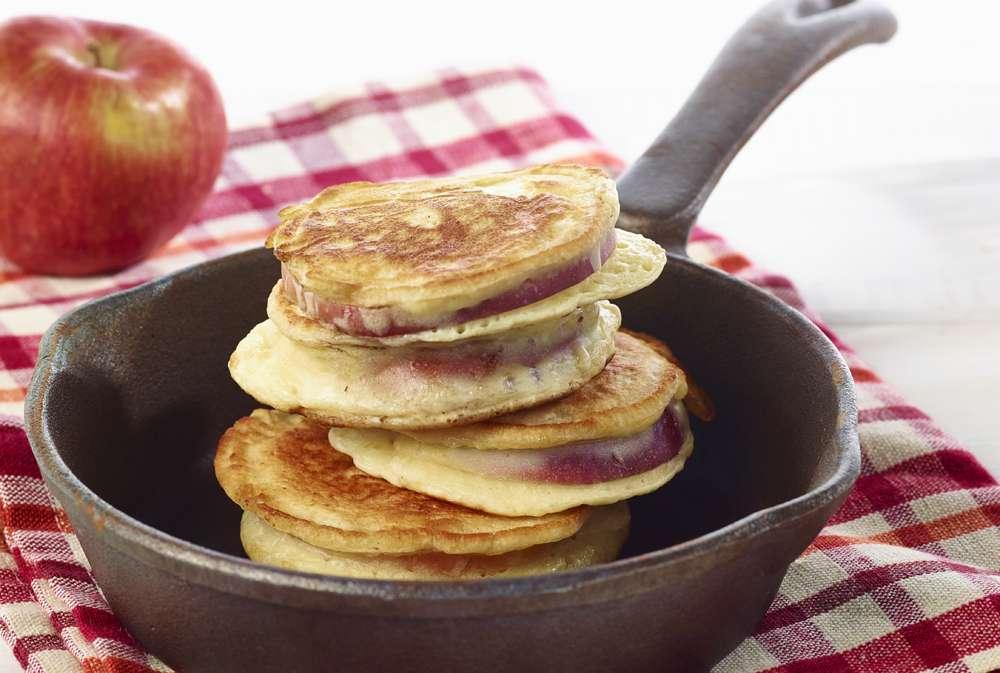 Fondation Olo | Recette | Crêpe aux pommes | Pomme-crêpes