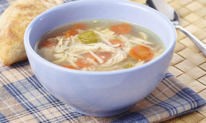 Fondation OLO | Recette | Soupe poulet et nouilles