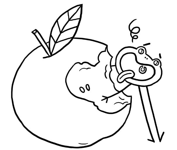 Fondation OLO | Coloriage | Pommes