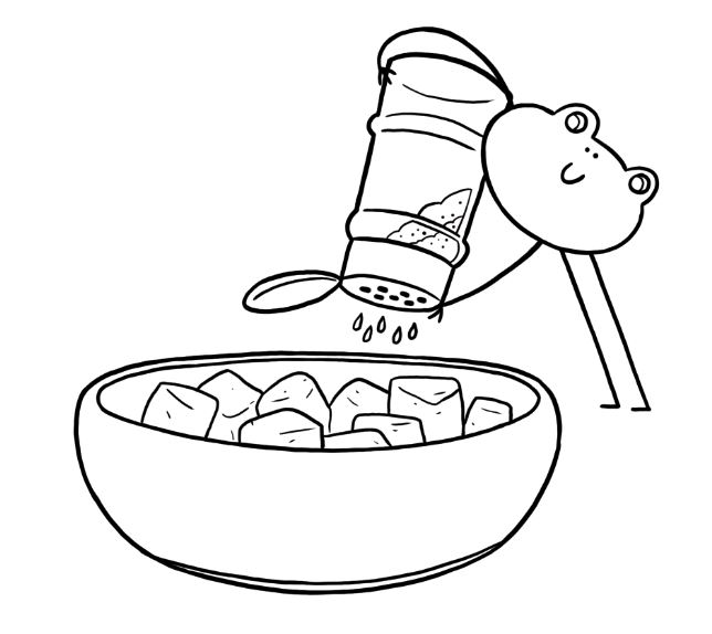 Fondation OLO | Coloriage | Tofu