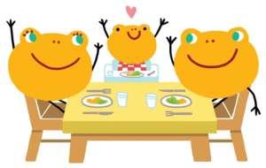 Fondation OLO | Les repas en famille