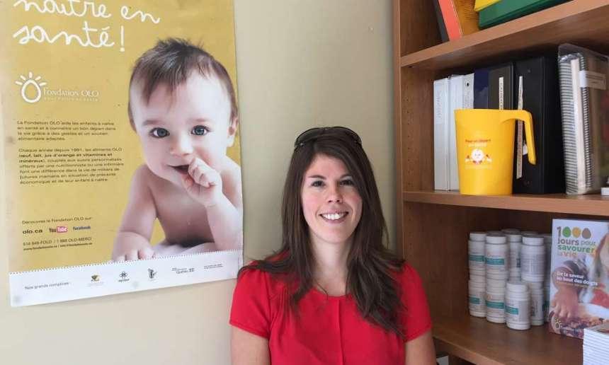 Portrait Sarah Fournier, intervenante OLO à Québec
