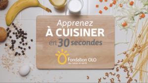 Fondation OLO | Un repas vite fait, bien fait! (l'assiette équilibrée)