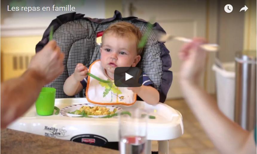 Fondation OLO | Vidéo | Les repas en famille et la routine alimentaire
