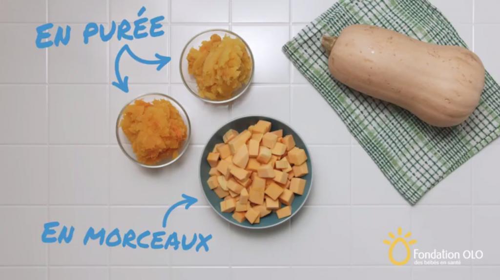 Apprenez à cuisiner en 30 secondes – Préparer la courge