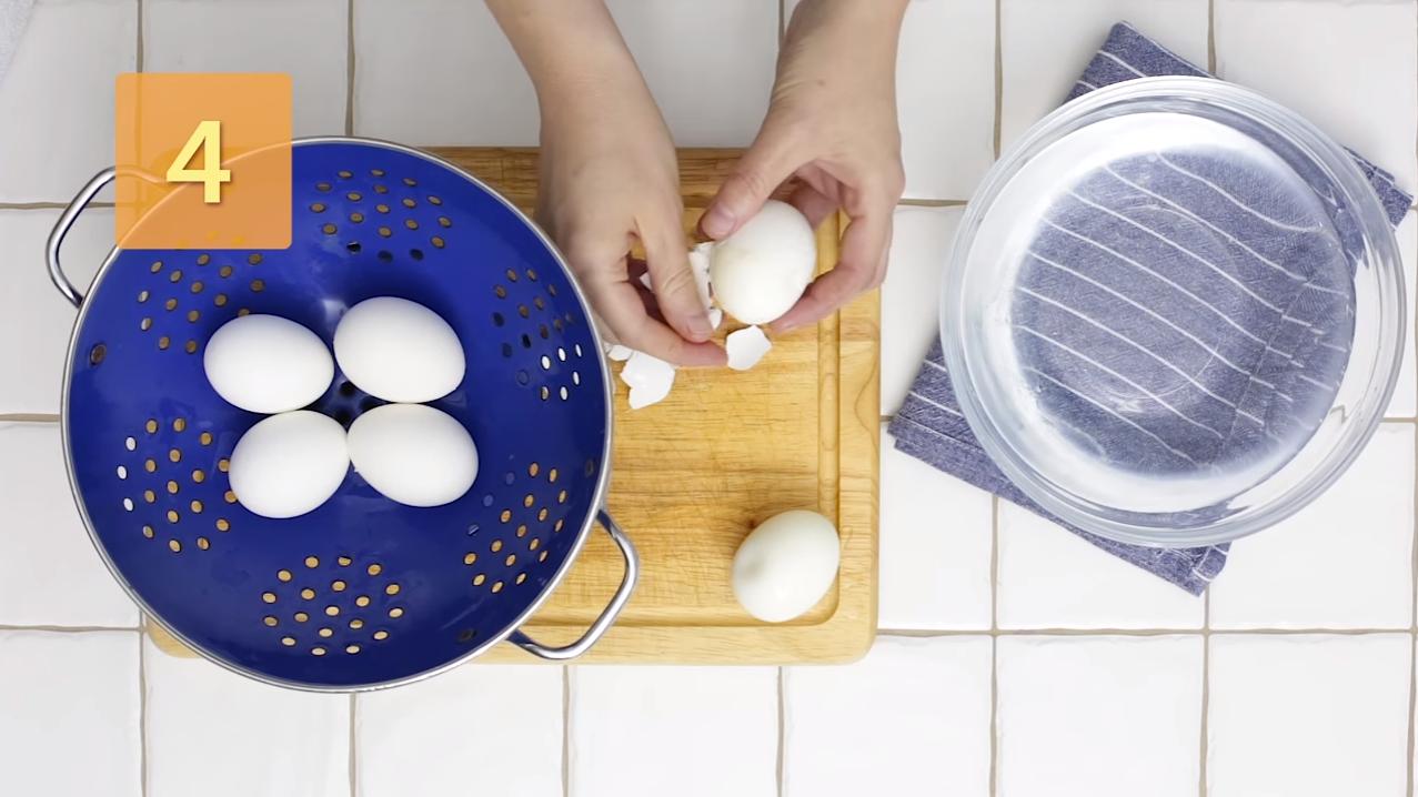 Comment cuire les oeufs durs en 4 étapes - étape 4