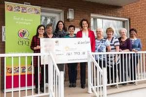 Un nouveau record de dons récoltés par les Cercles de Fermières