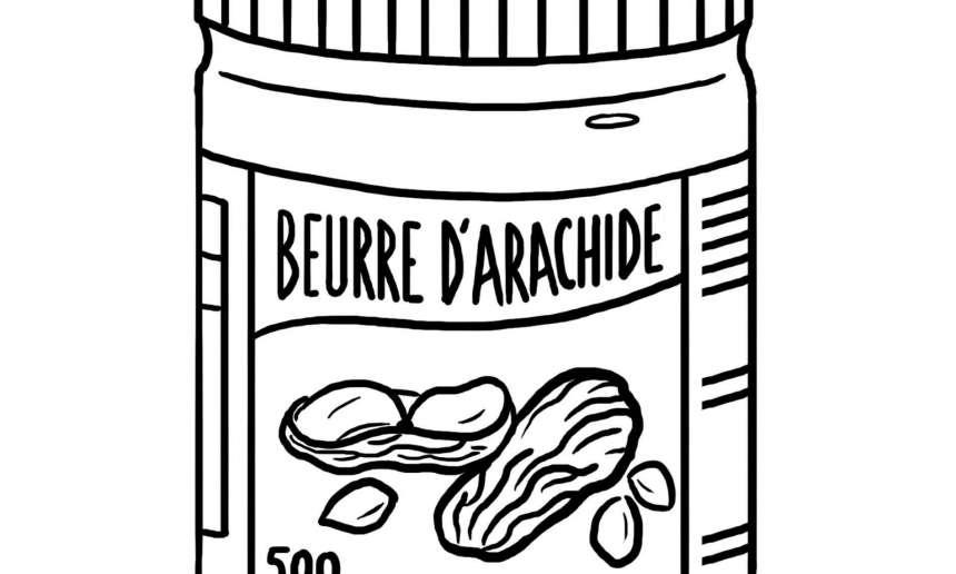 Fondation OLO | Coloriage | Beurre d'arachide