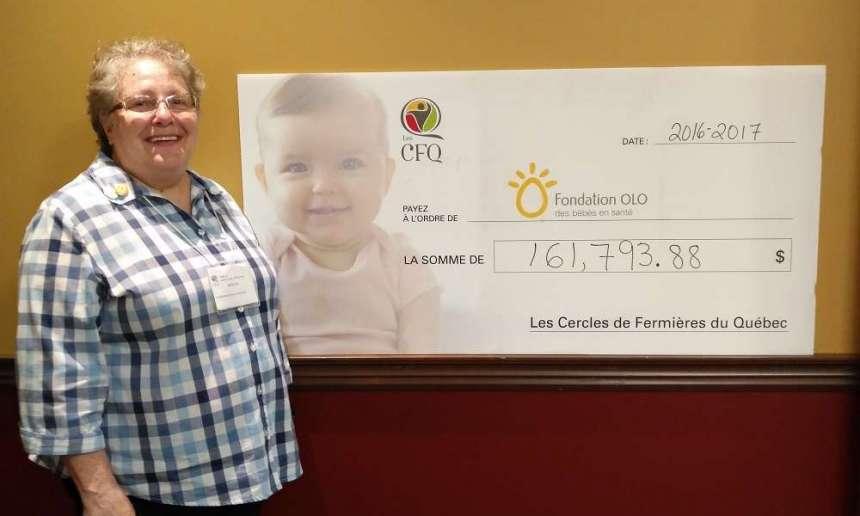 Fondation OLO | Congrès des CFQ 2017 - Jocelyne Dancause