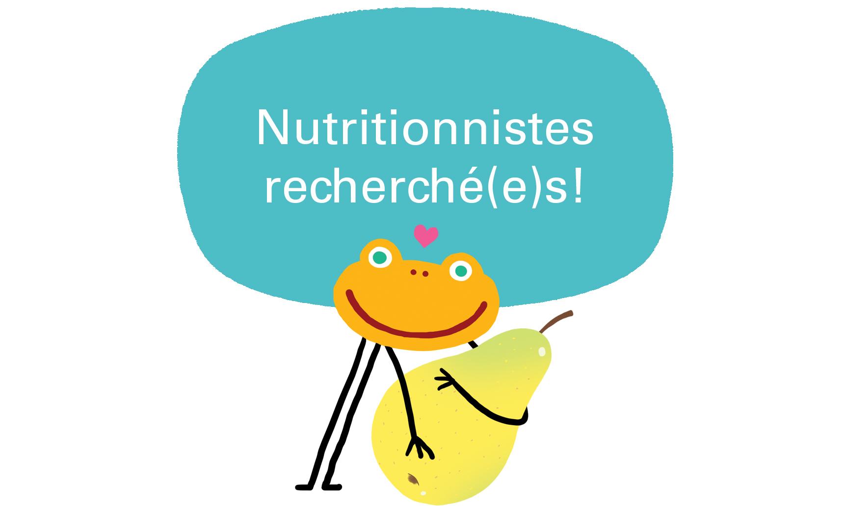Fondation OLO | Poste nutritionniste