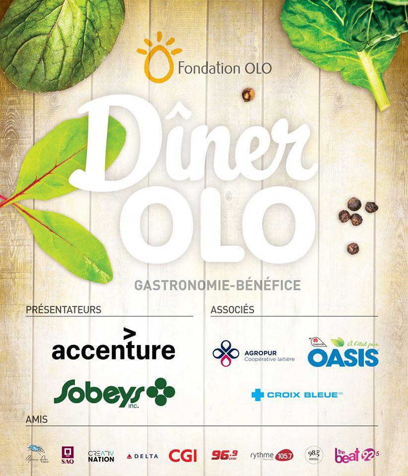 Fondation OLO | Dîner OLO | Partenaires 2017