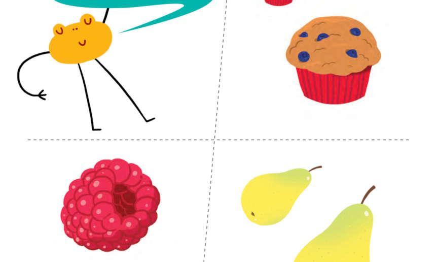 Fondation OLO | Jeu à imprimer - Gros vs petit