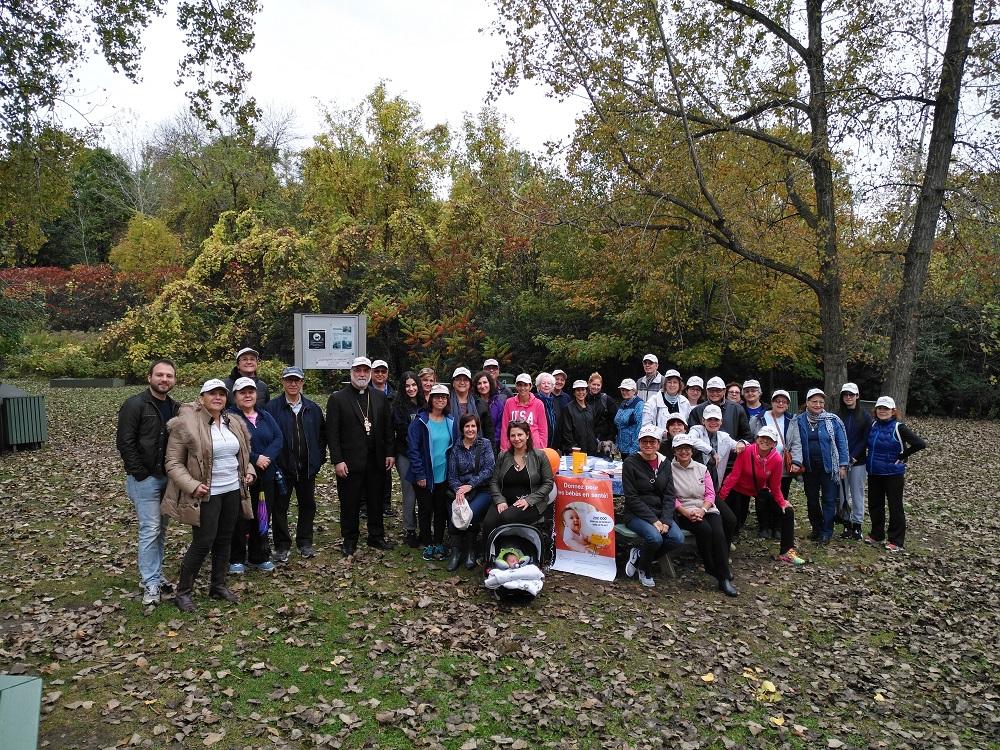 Fondation OLO | Marche annuelle de l'Église orthodoxe Antiochoise St- Georges au profit d'OLO