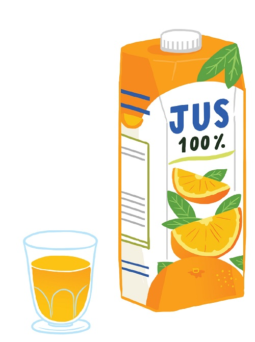 Fondation OLO | Aliments OLO | jus d'orange