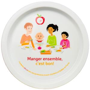 Fondation OLO | La trousse d'outils pour les parents | Assiette pour enfant
