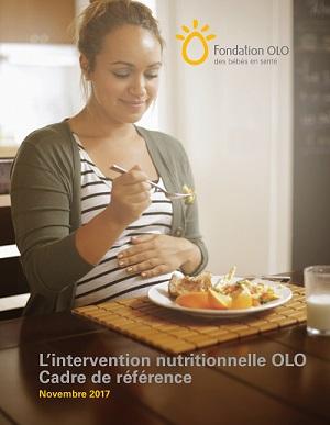 Fondation OLO | L'intervention nutritionnelle OLO - Cadre de référence 2017