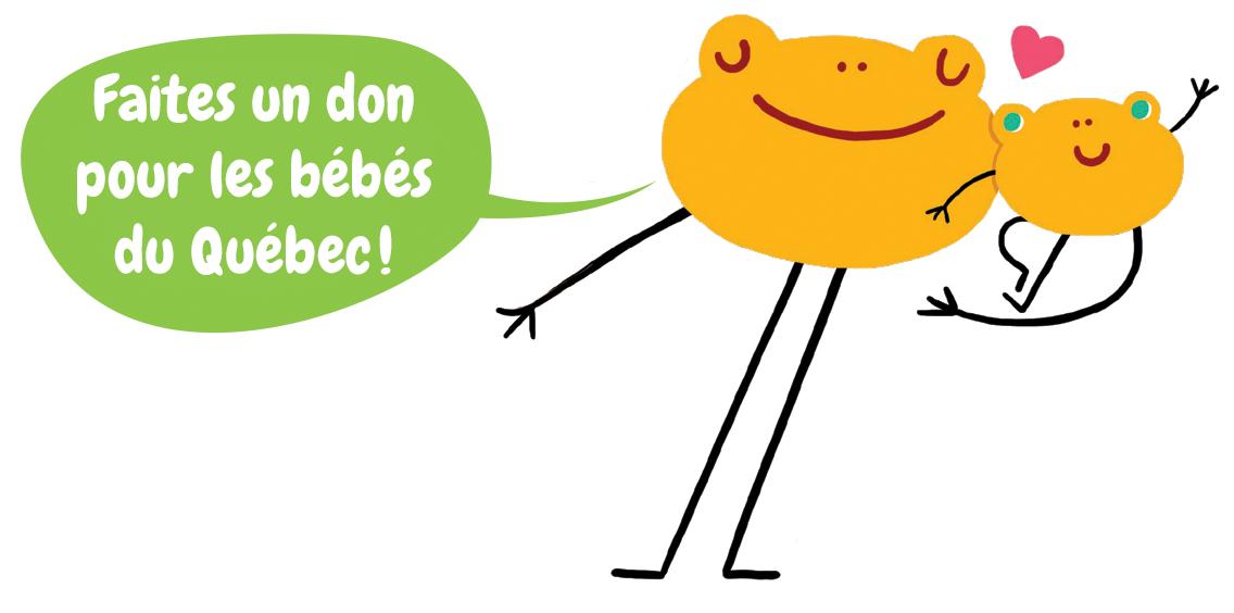 Fondation OLO | Faites un don pour les bébés du Québec!