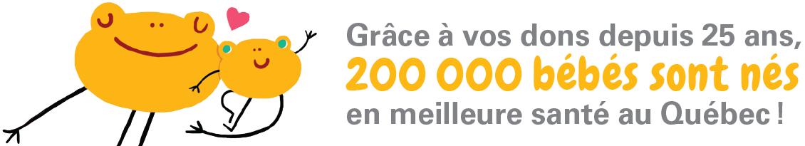 Fondation OLO | Grâce à vos dons, 200 000 bébés sont nés en meilleure santé