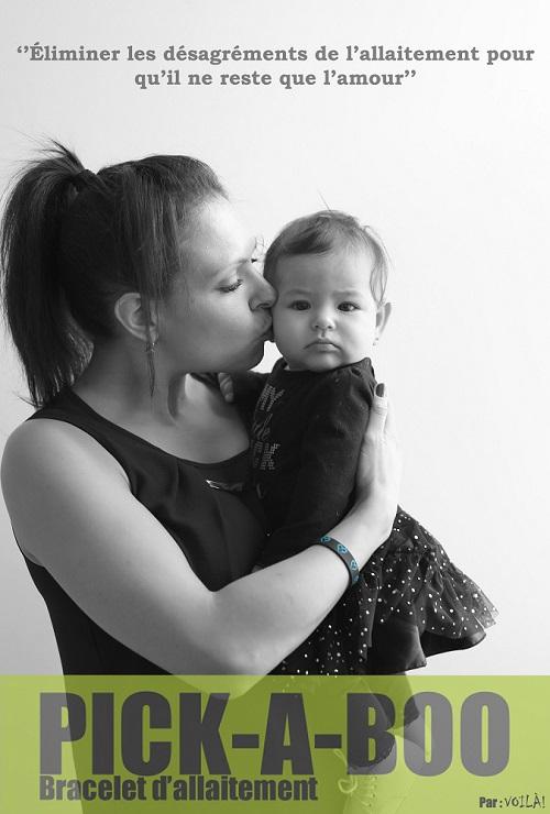 Fondation OLO | Pick-A-Boo - bracelet d'allaitement
