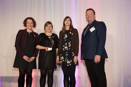 Fondation OLO remporte un prix DUX 2018
