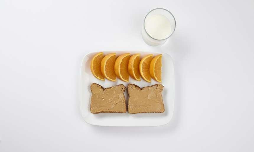 Fondation Olo | Exemple d'un repas équilibré | Un déjeuner équilibré