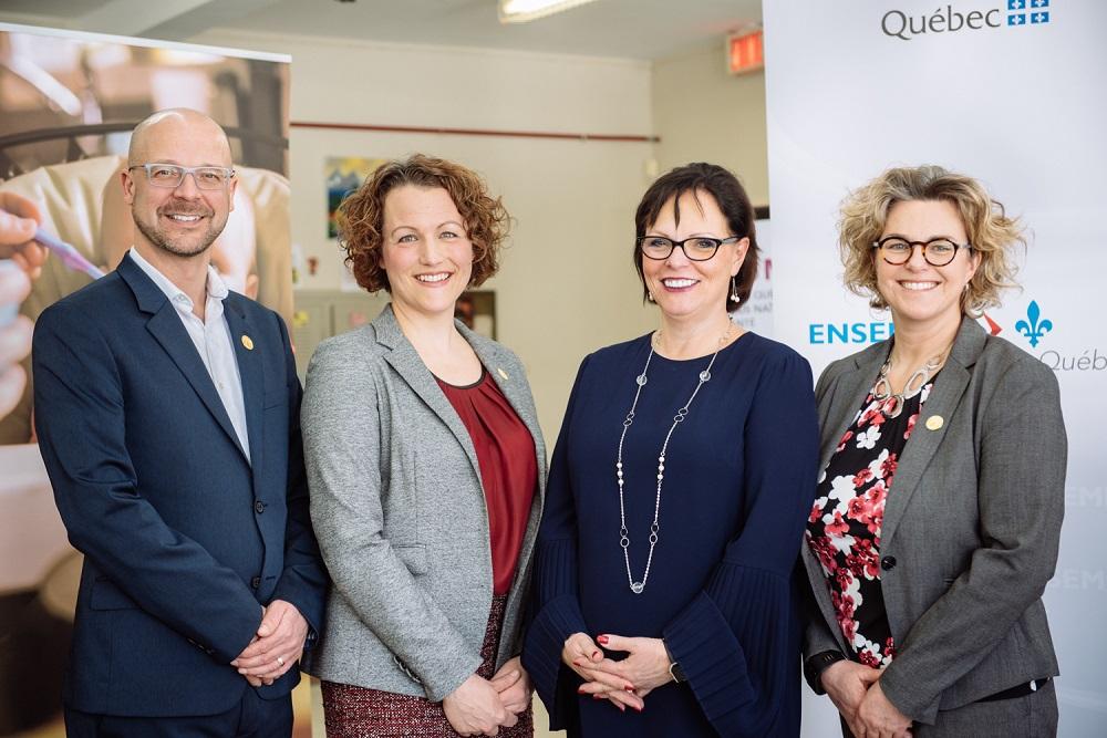 Un nouveau financement gouvernemental pour la Fondation OLO