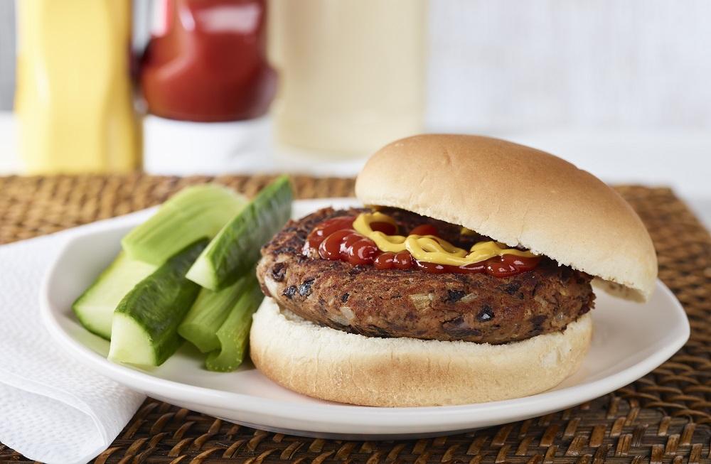 Fondation OLO | Recette | Burger végétarien aux haricots noirs