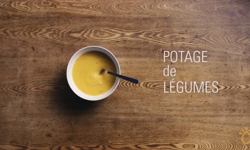 Fondation OLO | Technique culinaire | Potage de légumes