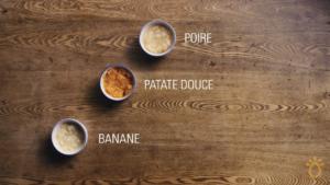 Fondation Olo | Technique culinaire | Purée pour bébé - fruits et légumes