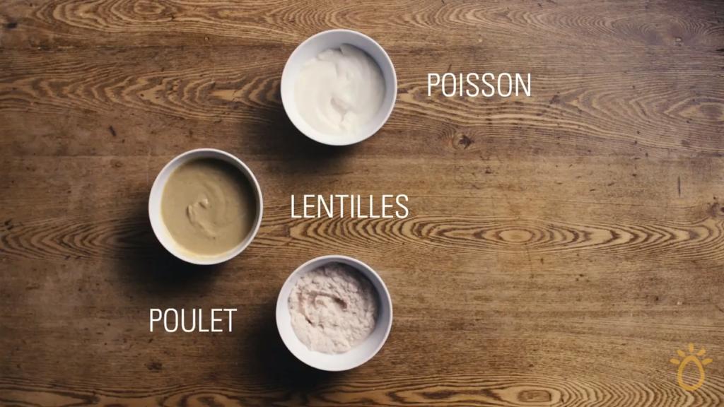 Fondation OLO | Technique culinaire | Purée pour bébé - viandes et substituts