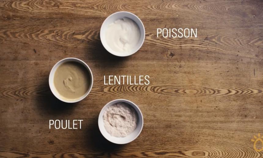 Fondation Olo | Technique culinaire | Purée pour bébé - aliments protéinés