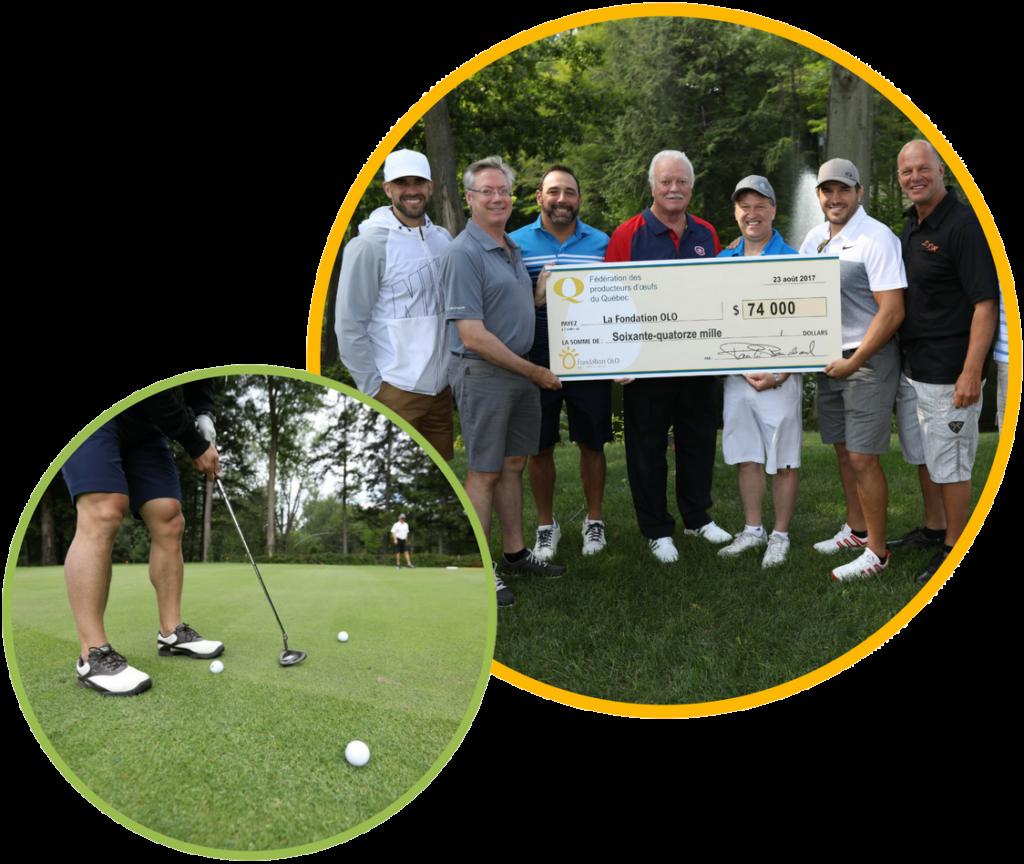 Fondation OLO | Une communauté engagée | Omnium de golf de la FPOQ
