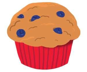Fondation OLO | Muffin aux bleuets