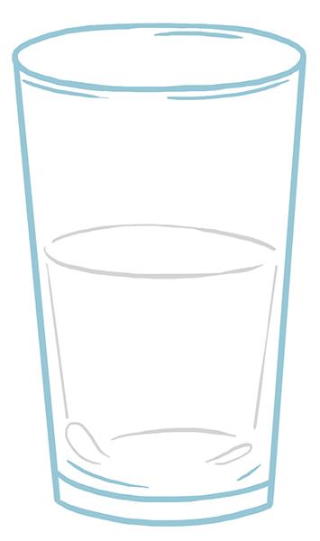 Fondation Olo | Verre d'eau