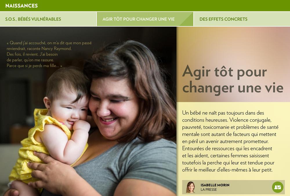 Fondation OLO | La Presse+ | S.O.S., bébés vulnérables