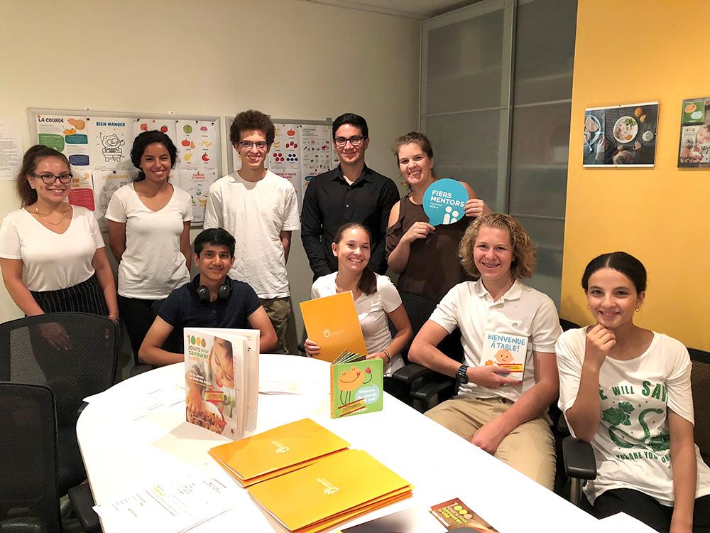 Fondation OLO | Stagiaires Montréal Relève